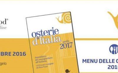 Osterie d'Italia – Presentazione guida