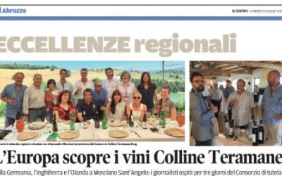 L'Europa scorpre i vini di Colline Teramane